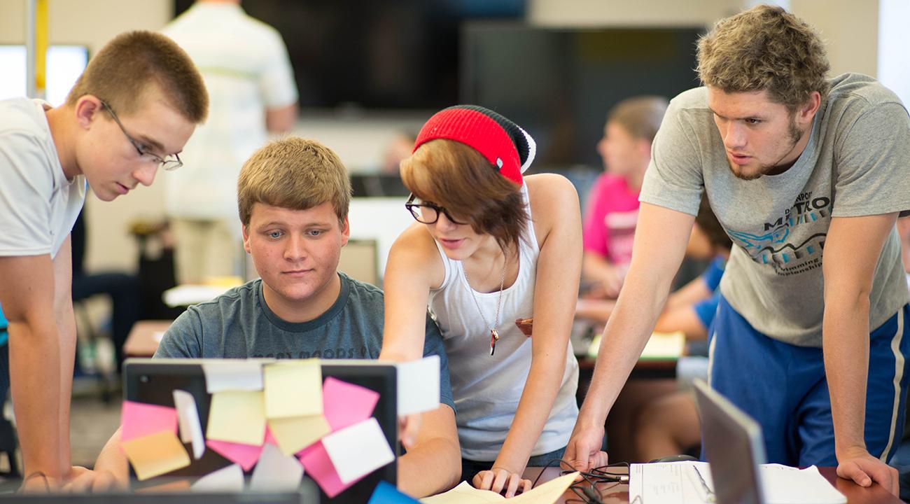 Student team of coders